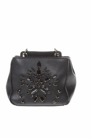 Дамска чанта Zara, Цвят Черен, Еко кожа, Цена 25,50лв.