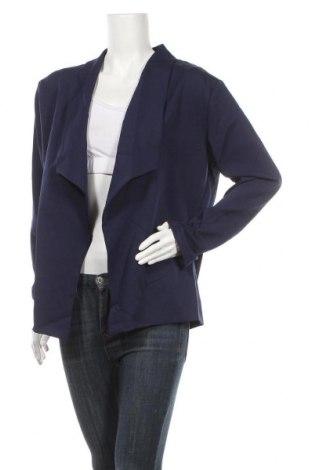 Дамска жилетка, Размер XL, Цвят Син, 65% памук, 35% полиестер, Цена 6,40лв.