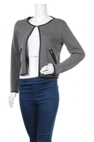 Дамска жилетка, Размер M, Цвят Сив, 65% памук, 35% полиестер, Цена 5,51лв.