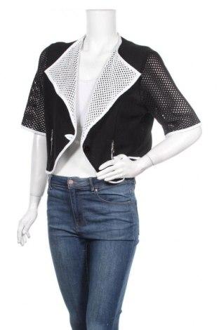 Дамска жилетка, Размер XL, Цвят Черен, 50% памук, 50% полиакрил, Цена 22,68лв.