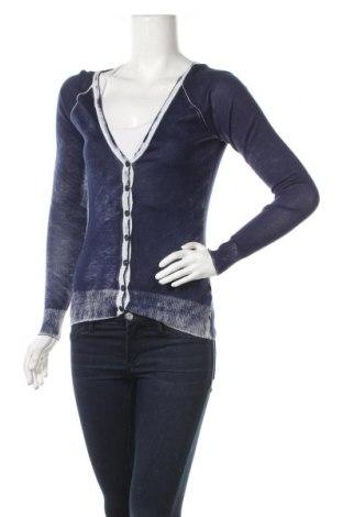 Γυναικεία ζακέτα Anna Scott, Μέγεθος S, Χρώμα Μπλέ, 50% βαμβάκι, 50% μοντάλ, Τιμή 10,43€