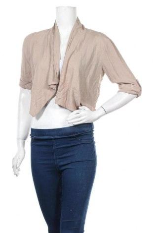 Γυναικεία ζακέτα Be Cool, Μέγεθος M, Χρώμα  Μπέζ, Βισκόζη, Τιμή 10,64€