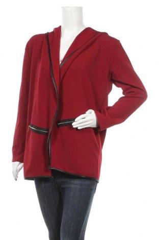 Γυναικεία ζακέτα Be Jealous, Μέγεθος XL, Χρώμα Κόκκινο, 95% πολυεστέρας, 5% ελαστάνη, Τιμή 13,64€