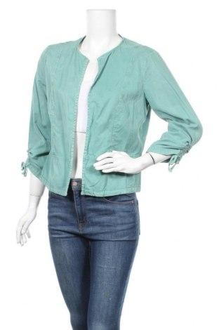 Дамска жилетка Betty & Co, Размер M, Цвят Зелен, 63% лиосел, 37% памук, Цена 8,40лв.