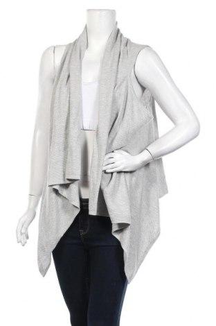 Дамска жилетка Charles Vogele, Размер M, Цвят Сив, 60% памук, 30% полиамид, 10% вълна, Цена 7,35лв.
