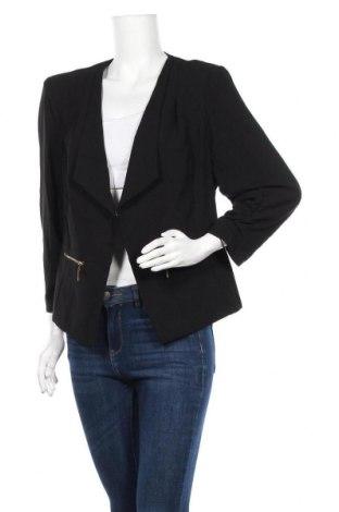 Γυναικεία ζακέτα City Chic, Μέγεθος L, Χρώμα Μαύρο, Τιμή 5,68€
