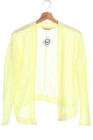 Дамска жилетка Garcia Jeans, Размер XS, Цвят Жълт, 70% полиестер, 30% вискоза, Цена 6,83лв.