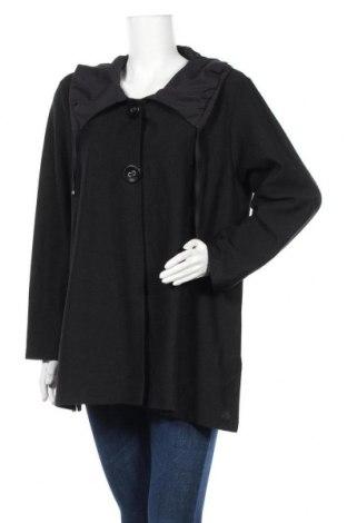 Дамска жилетка Gina Laura, Размер XL, Цвят Черен, 60% полиакрил, 30% полиестер, 10% памук, Цена 11,76лв.