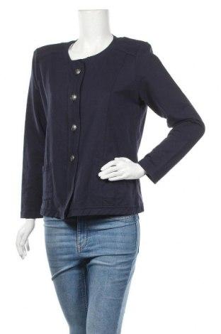 Γυναικεία ζακέτα Gina Laura, Μέγεθος M, Χρώμα Μπλέ, 60% βαμβάκι, 40% πολυεστέρας, Τιμή 6,24€