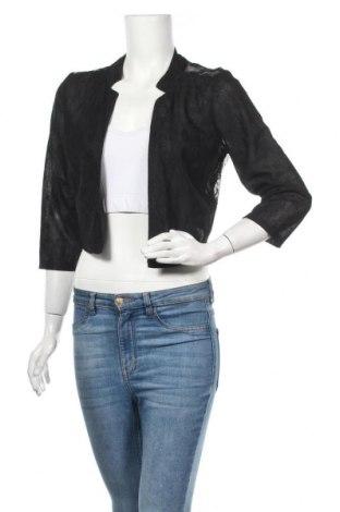 Дамска жилетка H&M, Размер M, Цвят Черен, 54% полиестер, 46% полиамид, Цена 6,40лв.