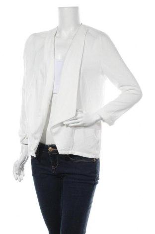 Дамска жилетка Janina, Размер S, Цвят Бял, 98% полиестер, 2% еластан, Цена 6,04лв.