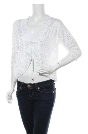 Дамска жилетка Knitt, Размер M, Цвят Бял, Цена 6,01лв.