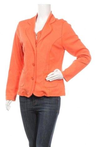 Дамска жилетка Kombi, Размер L, Цвят Оранжев, 60% полиестер, 40% полиестер, Цена 6,56лв.