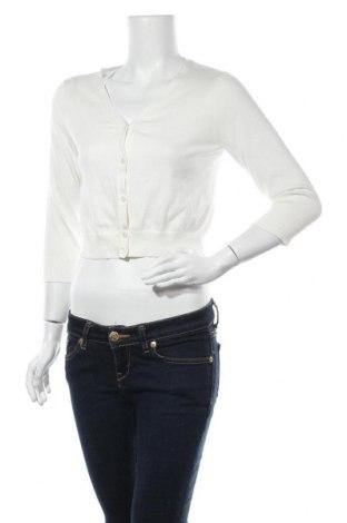 Γυναικεία ζακέτα Land's End, Μέγεθος S, Χρώμα Λευκό, Βαμβάκι, Τιμή 5,46€