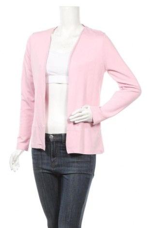 Дамска жилетка Laura Torelli, Размер S, Цвят Розов, 65% вискоза, 30% полиестер, 5% еластан, Цена 6,83лв.