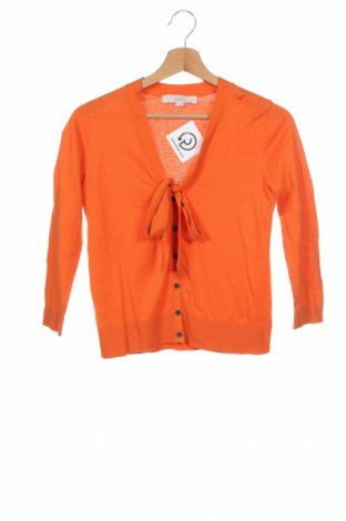 Дамска жилетка Loft By Ann Taylor, Размер XS, Цвят Оранжев, Цена 35,91лв.