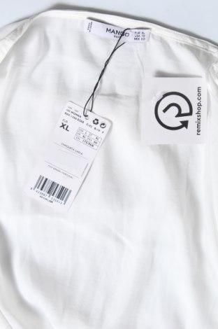 Дамска жилетка Mango, Размер XL, Цвят Бял, Полиестер, Цена 11,80лв.