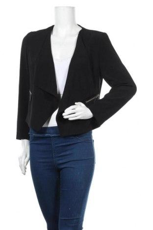 Дамска жилетка Marks & Spencer, Размер M, Цвят Черен, 93% полиестер, 7% еластан, Цена 5,51лв.