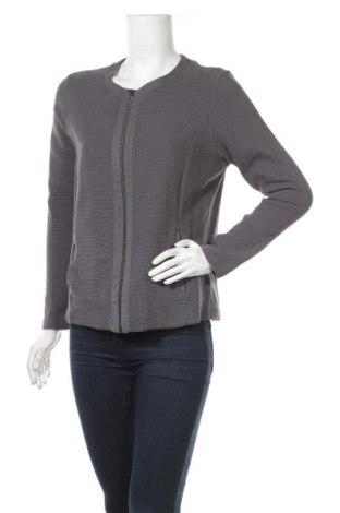 Γυναικεία ζακέτα Michele Boyard, Μέγεθος XL, Χρώμα Γκρί, 98% βαμβάκι, 2% ελαστάνη, Τιμή 11,37€