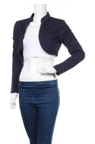 Γυναικεία ζακέτα Miss Etam, Μέγεθος M, Χρώμα Μπλέ, 95% βαμβάκι, 5% ελαστάνη, Τιμή 3,39€