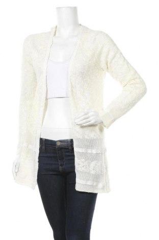 Γυναικεία ζακέτα Moodo, Μέγεθος S, Χρώμα Λευκό, Ακρυλικό, Τιμή 4,77€