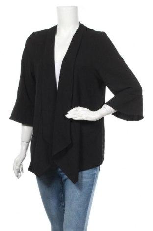 Дамска жилетка Ms Mode, Размер XL, Цвят Черен, 97% полиестер, 3% еластан, Цена 6,56лв.
