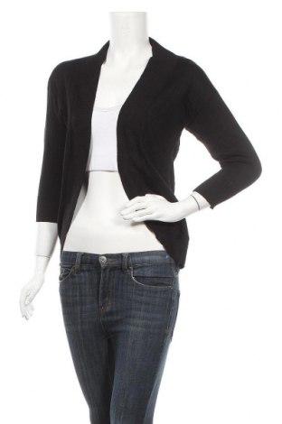 Дамска жилетка My Michelle, Размер XS, Цвят Черен, 78% вискоза, 22% полиестер, Цена 37,91лв.