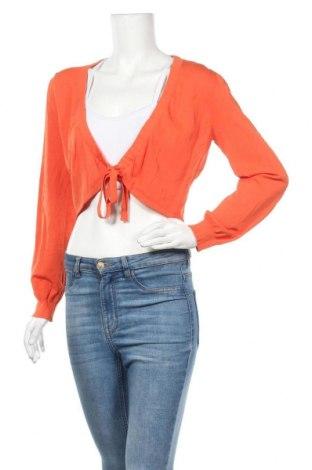 Γυναικεία ζακέτα S.Oliver, Μέγεθος XL, Χρώμα Πορτοκαλί, 63% βισκόζη, 37% πολυαμίδη, Τιμή 15,43€