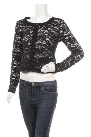 Γυναικεία ζακέτα Street One, Μέγεθος XS, Χρώμα Μαύρο, 65% βαμβάκι, 35% πολυαμίδη, Τιμή 6,50€