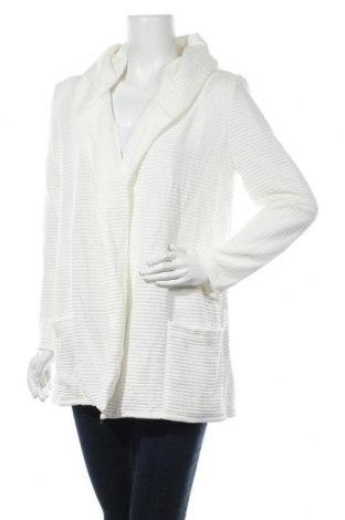 Cardigan de damă Styleboom, Mărime M, Culoare Alb, 95% poliester, 5% elastan, Preț 107,10 Lei