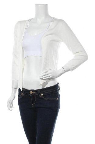 Γυναικεία ζακέτα Tom Tailor, Μέγεθος S, Χρώμα Λευκό, 50% βαμβάκι, 50% πολυακρυλικό, Τιμή 7,96€
