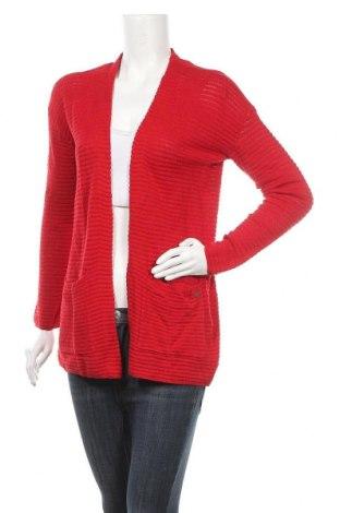 Γυναικεία ζακέτα Tom Tailor, Μέγεθος M, Χρώμα Κόκκινο, Τιμή 11,95€