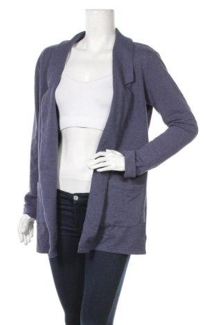 Γυναικεία ζακέτα Up 2 Fashion, Μέγεθος M, Χρώμα Μπλέ, 64% πολυεστέρας, 32% βαμβάκι, 4% ελαστάνη, Τιμή 5,91€