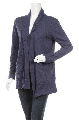 Γυναικεία ζακέτα Up 2 Fashion, Μέγεθος M, Χρώμα Μπλέ, 64% πολυεστέρας, 32% βαμβάκι, 4% ελαστάνη, Τιμή 9,55€