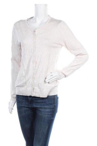 Γυναικεία ζακέτα Up 2 Fashion, Μέγεθος L, Χρώμα  Μπέζ, 83% βισκόζη, 17% πολυαμίδη, Τιμή 9,65€
