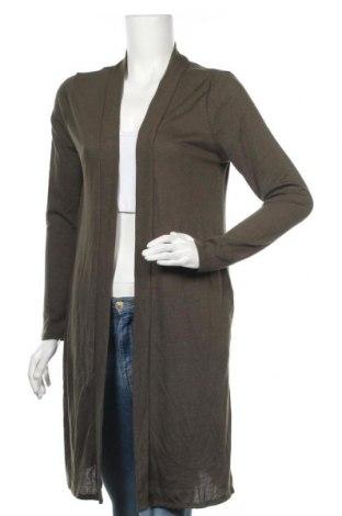 Дамска жилетка Zenana Outfitters, Размер M, Цвят Зелен, 62% полиестер, 34% вискоза, 4% еластан, Цена 10,29лв.