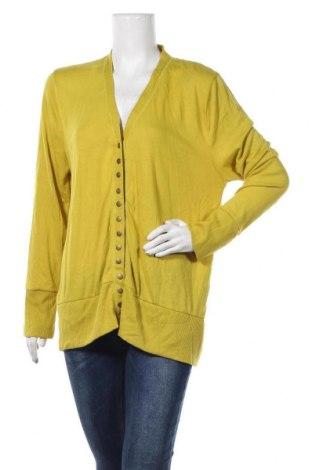 Γυναικεία ζακέτα Zenana Outfitters, Μέγεθος XXL, Χρώμα Πράσινο, 62% πολυεστέρας, 34% βισκόζη, 4% ελαστάνη, Τιμή 5,46€
