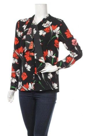 Дамска риза Camomilla, Размер S, Цвят Черен, 97% полиестер, 3% еластан, Цена 19,32лв.
