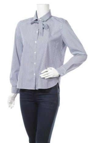 Дамска риза Esprit, Размер M, Цвят Син, 70% памук, 26% полиестер, 4% еластан, Цена 9,89лв.