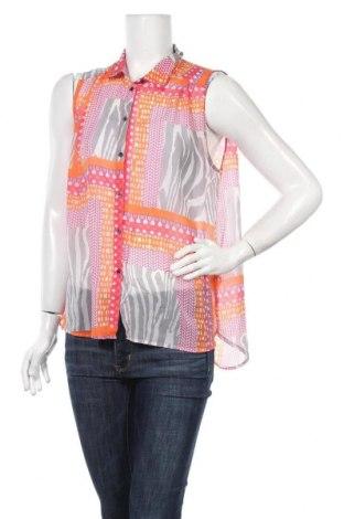 Дамска риза H&M, Размер M, Цвят Многоцветен, Полиестер, Цена 5,48лв.