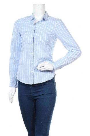 Дамска риза H&M L.O.G.G., Размер XS, Цвят Син, Цена 12,19лв.