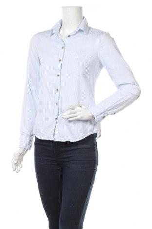 Дамска риза H&M L.O.G.G., Размер S, Цвят Син, Памук, Цена 12,19лв.