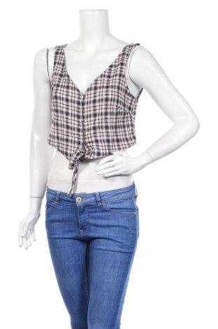 Дамска риза Noisy May, Размер M, Цвят Многоцветен, 99% памук, 1% еластан, Цена 18,40лв.