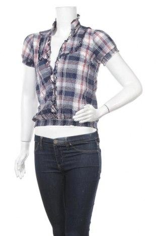 Γυναικείο πουκάμισο Poetry, Μέγεθος S, Χρώμα Πολύχρωμο, Βαμβάκι, Τιμή 3,18€
