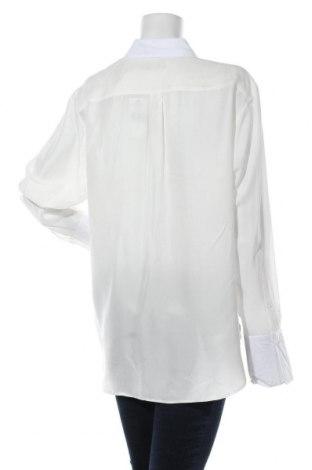 Дамска риза Polo By Ralph Lauren, Размер L, Цвят Бял, Коприна, Цена 71,60лв.