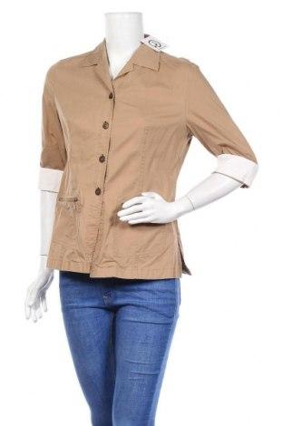 Дамска риза Taifun, Размер M, Цвят Бежов, Цена 5,90лв.
