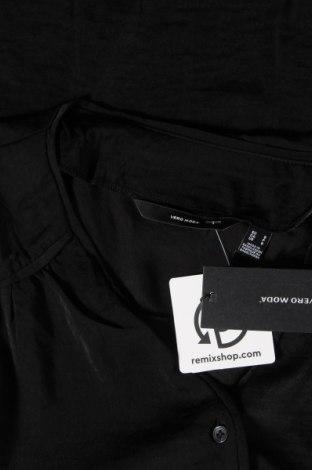 Дамска риза Vero Moda, Размер S, Цвят Черен, Полиестер, Цена 10,80лв.