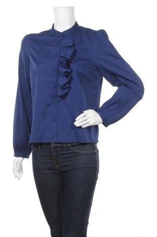 Дамска риза Vero Moda, Размер M, Цвят Син, Цена 40,50лв.