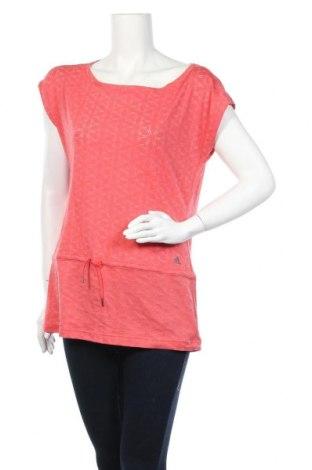 Дамска тениска Adidas, Размер XL, Цвят Розов, Цена 23,52лв.