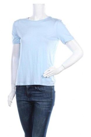 Дамска тениска Aware by Vero Moda, Размер S, Цвят Син, 95% лиосел, 5% еластан, Цена 11,02лв.